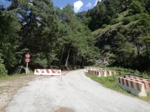 La strada del Vallone di Elva è... aperta