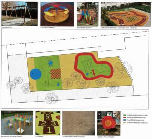 Busca: avviati i lavori di rinnovo del giardino dell'asilo Don Becchis