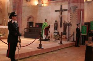 Celebrato a Staffarda San Giovanni Gualberto, patrono dei Forestali d'Italia