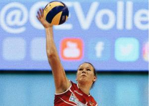 Pallavolo A1/F: Cuneo, per il ruolo di opposto c'è Julia Kavalenka