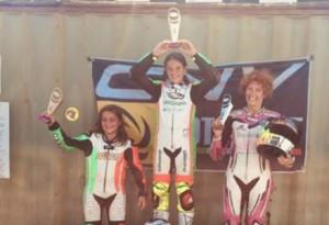 Motociclismo: Arianna Barale vince a Cecina