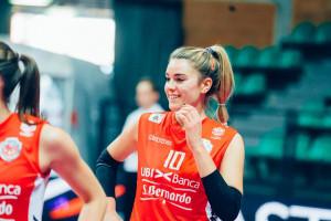 Pallavolo A1/F: Cuneo e Alessandra Baiocco ancora insieme