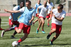 Calcio, Serie D: il ritiro del Bra prosegue al Sestriere