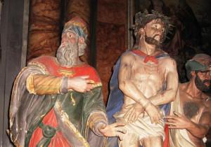 Tornano a Cortemilia le statue 'I Giudei'
