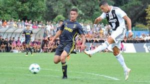 Due cuneesi in campo a Villar Perosa per il 'battesimo' di Cristiano Ronaldo