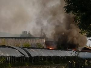 Incendio a 'Cascina Bianca' a San Defendente di Cervasca, le esclusive immagini aeree (VIDEO)