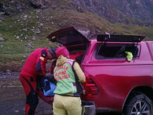 Bloccati in parete durante arrampicata, intervento del Soccorso Alpino a Crissolo