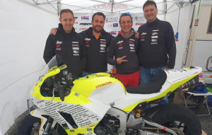 Motociclismo: Francesco Curinga in gara all'Isola di Man