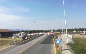 Aperta la nuova rotatoria di San Benigno sulla provinciale Cuneo-Villafalletto