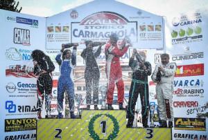 Rally storico di Carmagnola: vincono gli albesi Sergio Mano e Jessica Radosta