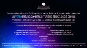A Grinzane la prima convention unitaria delle 10 associazioni della Confcommercio cuneese