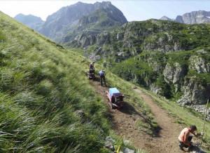 Valle Gesso: ripristinato il sentiero che porta al lago del Vej del Bouc