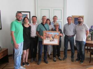 Bra: il direttivo del Vespa club 'La Zizzola' ricevuto in Municipio