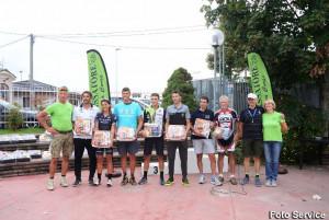 Ciclismo: Franco Carlevero e Chiara Costamagna vincenti nella crono del Passatore