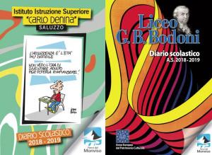 Distribuiti a Saluzzo i diari scolastici promossi dal Parco del Monviso