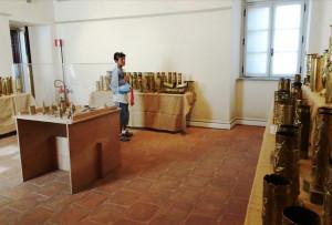 Esposizione di bossoli, e non solo, in Palazzo Samone a Cuneo