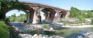 Cuneo, il ponte sul Gesso chiuso per lavori nella notte tra venerdì 14 e sabato 15 settembre