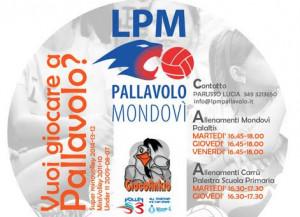 Al via 'Giocoankio', l'attività dedicata ai giovanissimi di Lpm Pallavolo Mondovì