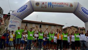 Grande successo per la fitwalking solidale di Busca
