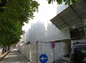 Ripresi i lavori per la messa in sicurezza del palazzo della Provincia a Cuneo