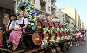 Tutto pronto per la grande parata inaugurale dell'Oktoberfest Cuneo 2018