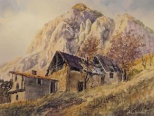 Mondovì, le opere di Arnaldo Colombatto in mostra al bar 'Lurisia'