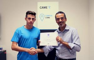 Uno studente fossanese tra i 20 migliori d'Italia di 'Campus Came'