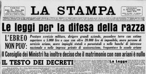 A Cuneo un convegno ricorda le leggi razziali in Italia