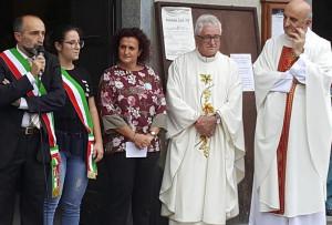 Rifreddo accoglie il nuovo parroco Don Angelo Vincenti