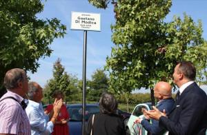 Alba: il piazzale di Scaparoni intitolato al professor Gaetano Di Modica