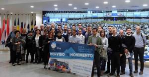 I giovani di 'Monviso in Movimento' in visita alle istituzioni europee di Strasburgo