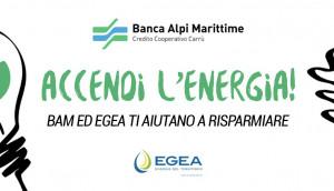 Bam ed Egea insieme per offrire ai propri clienti le migliori soluzioni per luce e gas