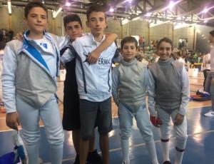 Buone prove a Carnago per gli atleti della Scherma Cuneo