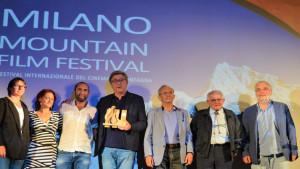 Premio al 'Milano Mountain Festival' per 'L'aritmetica del lupo'