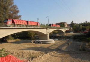 Intervento di sistemazione idraulica del ponte sul Po a Cardè