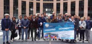 Il viaggio di 'Monviso in Movimento' a Strasburgo