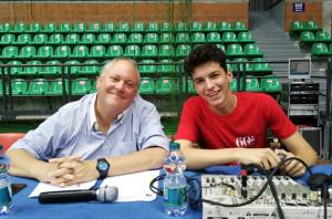 Mario Piccioni nuovo speaker della squadra di volley di A2