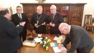 Ad Alba la reliquia di Giovanni Paolo II