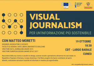 Cuneo, al Centro Documentazione Territoriale si parla di 'Visual Journalism'