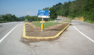 C'è il progetto per la rotatoria tra le provinciali 12 e 224 in località Tuma di Clavesana