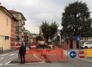 Busca: senso unico in corso Giolitti per lavori all'acquedotto