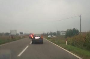 Incidente tra Busca e Madonna dell'Olmo, due auto coinvolte