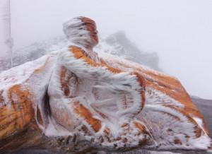 Un paesaggio 'polare': scatti spettacolari dal Colle dell'Agnello