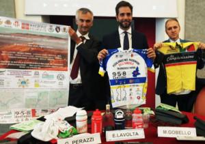958 Santero partner del giro ciclistico che tocca siti Unesco e bellezze del Piemonte