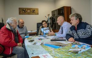 Incontro a Cuneo in vista delle due tappe cuneesi del 'Tour Metropole Nice Cote d'Azur' 2019
