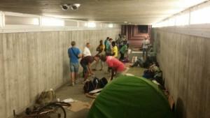 Aperto da ieri sera il 'centro emergenza freddo' per i senzatetto di Cuneo