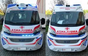 Quattro nuovi mezzi per la Croce Rossa di Busca e Manta