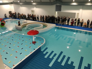 (Re)inaugurato lo Stadio del Nuoto di Cuneo: ora è completo