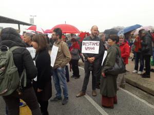 A Cuneo la manifestazione di protesta contro il 'decreto sicurezza e immigrazione' (FOTO)
