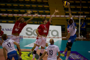 Volley A2/M: Cuneo strappa un set a Catania